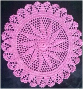 Simple Crochet Doily Pattern