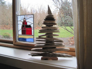 Simple Driftwood Christmas Tree