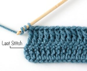 Single Treble Crochet Stitch