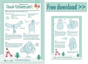 Sock Snowman PDF Download