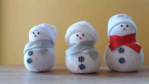 Sock Snowman Tutorial Youtube