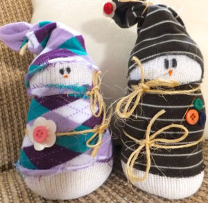 Sock Snowmen Project