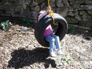 Tire Swing DIY