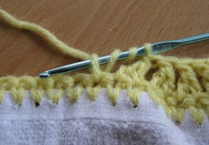 Treble Decrease Crochet Stitch