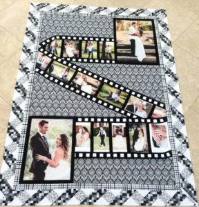 Wedding Photo Quilt