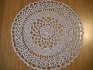 White Crochet Doily Pattern
