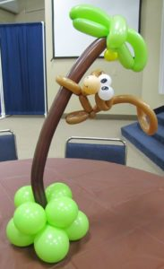 Balloon Monkey On Tree