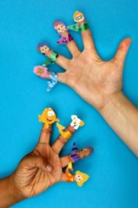 Bubble Guppies Finger Puppets Printable