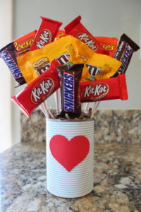 Candy Bouquet Valentine