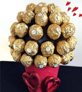Candy Bouquet for Valentine