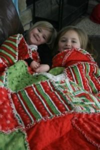 Christmas Rag Quilt Pattern