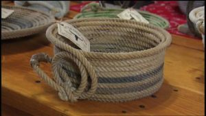 Cowboy Rope Basket DIY