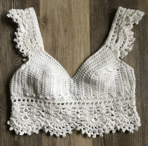 Crochet Corset Crop Top