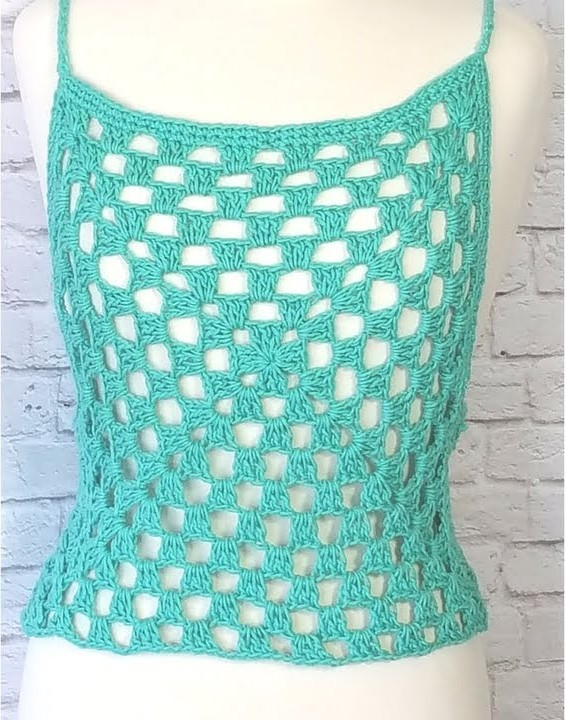 35 Free Diy Crochet Crop Top Patterns With Instructions