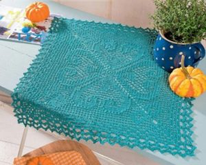 Crochet Doily Pattern Square