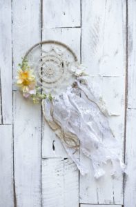 Crochet Dreamcatcher Doily Pattern