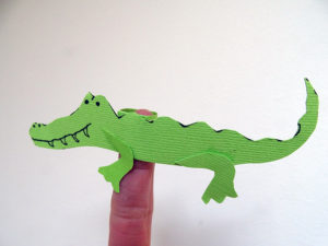 Crocodile Finger Puppets