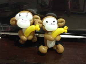 DIY Balloon Monkey