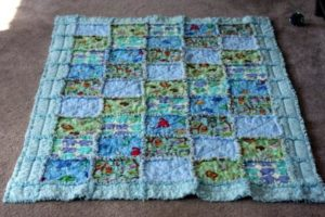 DIY Rag Quilt Design