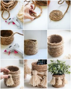 DIY Rope Basket Instructions