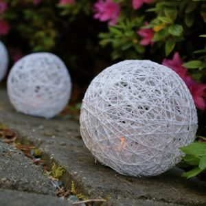 DIY Yarn Lanterns