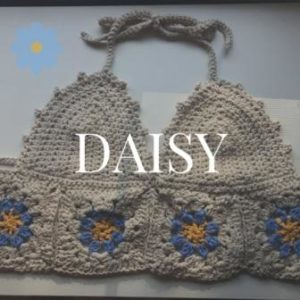 Daisy Crochet Crop Top Pattern