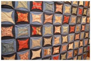 Denim Circle Rag Quilt