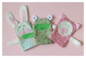 Fabric Finger Puppets
