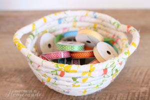 Fabric Rope Basket