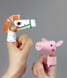Farm Animals Finger Puppet Printables