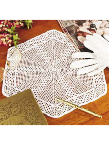 Free Hexagon Crochet Doily Pattern
