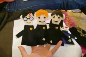 Harry Potter Finger Puppet