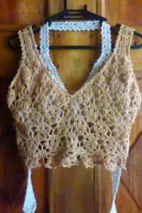 How to Crochet Crop Top