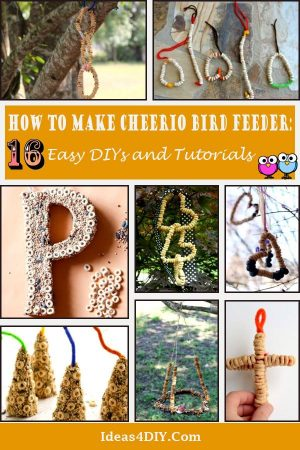 How to Make Cheerio Bird Feeder