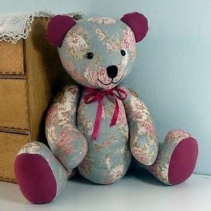 12+ Adorable DIY Memory Bears Pattern with Instructions