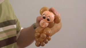 How to Make a Balloon Monkey