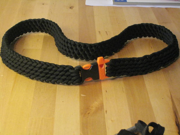 33 diy paracord belt patterns tutorials with instructions for How to make a belt out of paracord