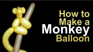 Make Balloon Monkey