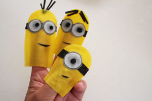 Minions Finger Puppets