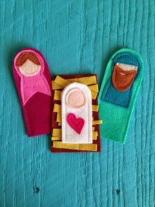 Nativity Finger Puppet