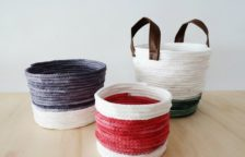 No Sew Rope Baskets