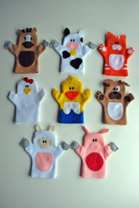 Old Mac Donald Hand Puppets