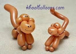 One Balloon Monkey DIY