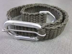 Paracord Belt with D Ring