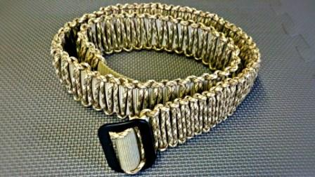 33 DIY Paracord Belt Patterns, Tutorials with Instructions