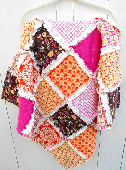 How to Make Rag Quilt Patterns: 44+ Free Tutorials with Instructions : rag quilt pattern instructions - Adamdwight.com