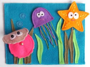 Sea Animal Finger Puppets