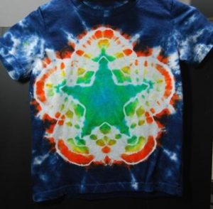 Star Tie Dye Shirt Pattern