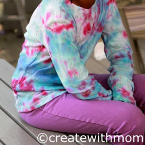 Tie Dye Shirt Long sleeves