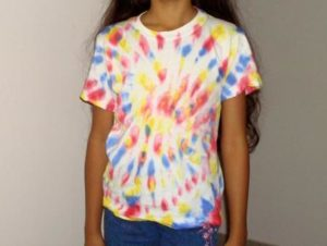 Tie Dye Shirt for Girls